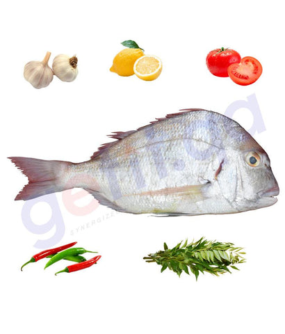 Fresh Fish - KOFER - كوفر -  SOLDIER BREAM 1KG