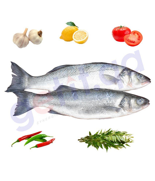 Fresh Fish - Sea Bass   -   ﻗﺎﺭﻭﺹ Centropristis Striata 1Kg
