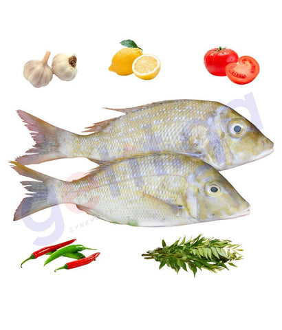 Fresh Fish - SHEIRII - شعرى - SPANGLED EMPEROR -  Medium 1Kg