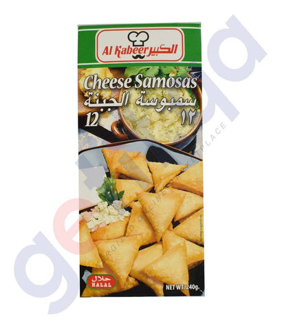 FROZEN FOODS - AL KABEER CHEESE SAMOSAS 240GM