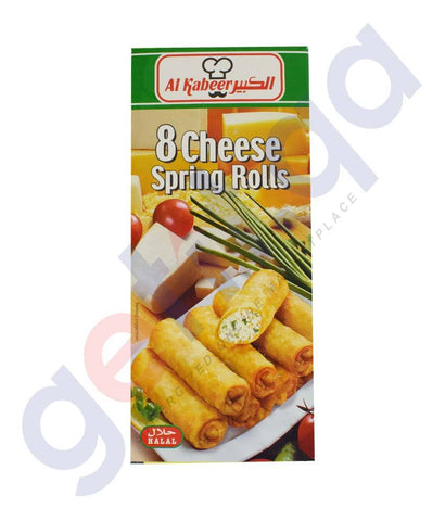 FROZEN FOODS - AL KABEER CHEESE SPRING ROLLS 280GM