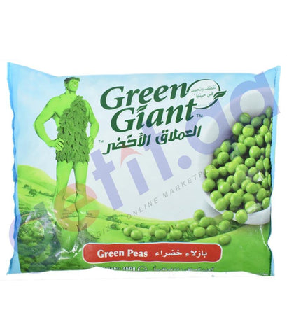 FROZEN FOODS - GREEN GIANT GREEN PEAS 450GM