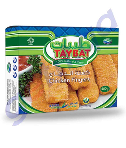 FROZEN FOODS - TAYBAT CHICKEN FINGER - 400GM