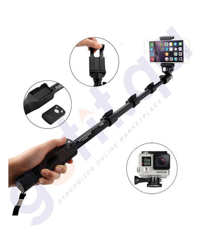 GADGETS - YUNTENG SELFIE STICK WITH BLUETOOTH REMOTE -1288 Y