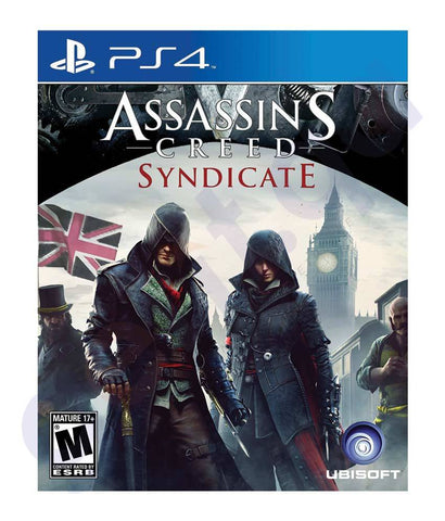 GAMES - ASSASSIN'S CREED- SYNDICATE - PS4