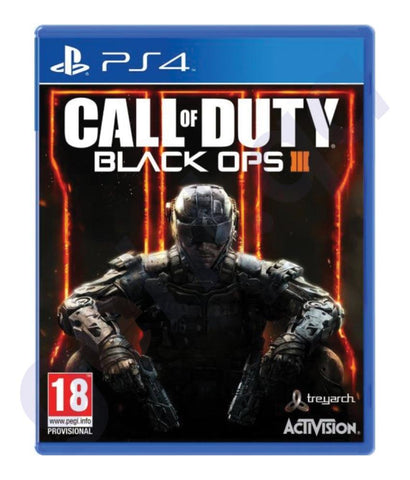 GAMES - CALL OF DUTY - BLACK OPS III - PS4