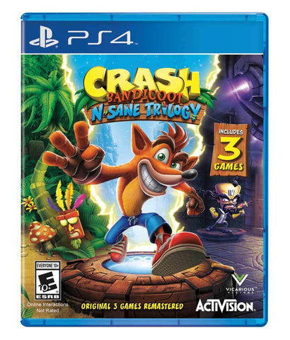 GAMES - CRASH - BANDICOOT N.SANE TRILOGY - PS4