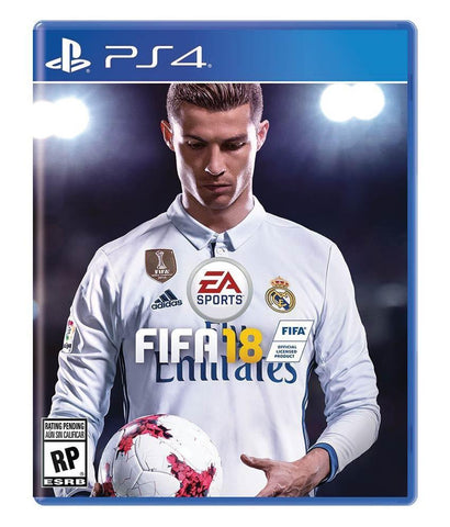 GAMES - FIFA 18 ARABIC - PS4