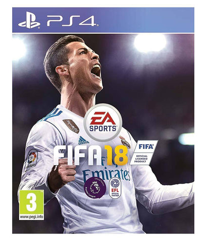 GAMES - FIFA 18 ENGLISH - PS4
