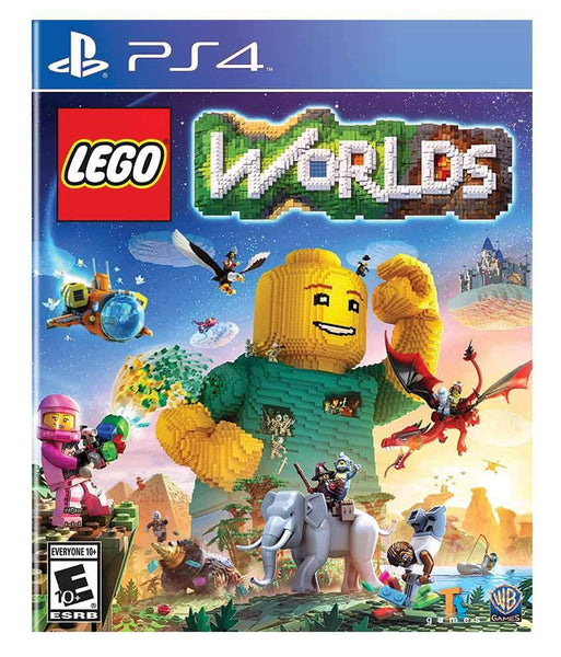 GAMES - LEGO WORLDS - PS4