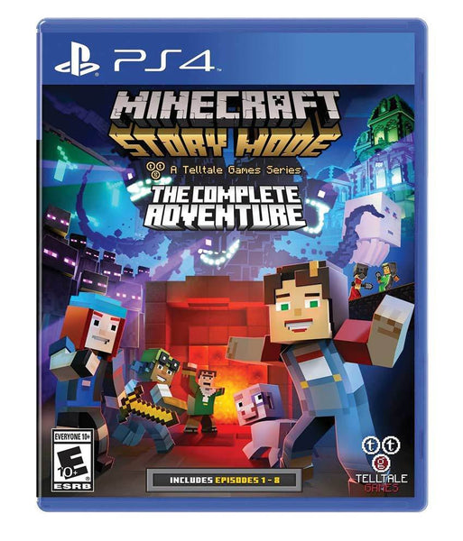GAMES - MINECRAFT STORY MODE - PS4