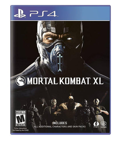 GAMES - MORTAL KOMBAT XL - PS4