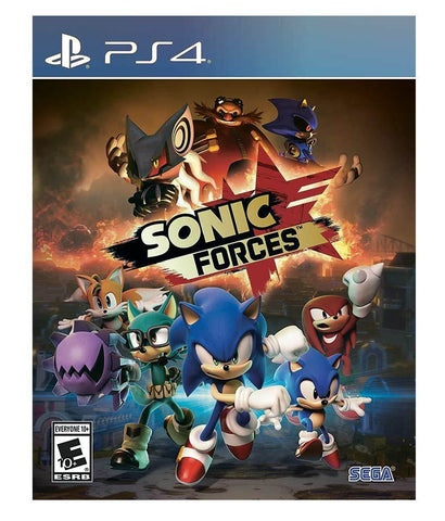 GAMES - SONIC FORCES - PS4