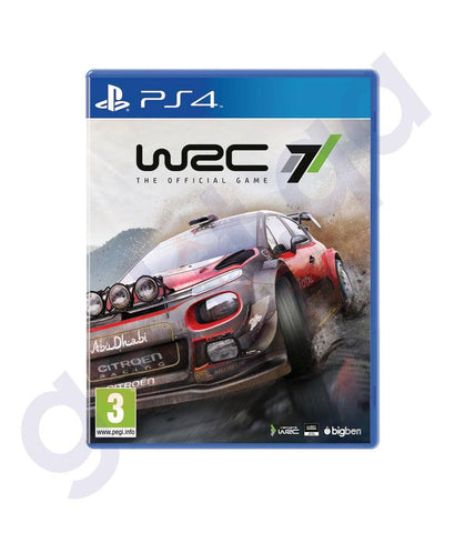 GAMES - WRC 7  FOR PS4
