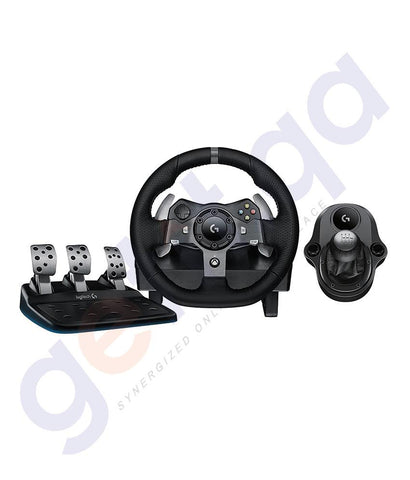 GAMING ACCESSORIES - LOGITECH G920 DRIVING FORCE RACING WHEEL + G DRIVING FORCE SHIFTER
