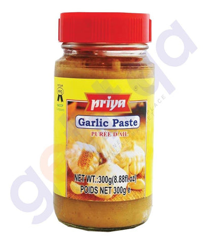 GARLIC PASTE - PRIYA GARLIC PASTE - 300 GM