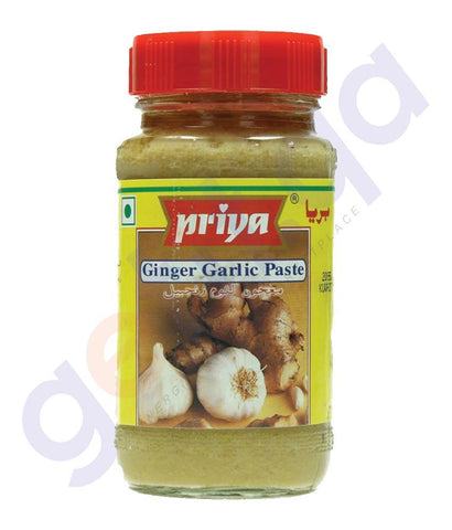 GINGER GARLIC PASTE - PRIYA GINGER GARLIC PASTE  - 300GM