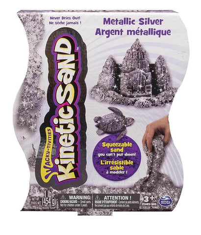 Girls Toys - KINETIC SAND METALLIC (1LB), 6026411