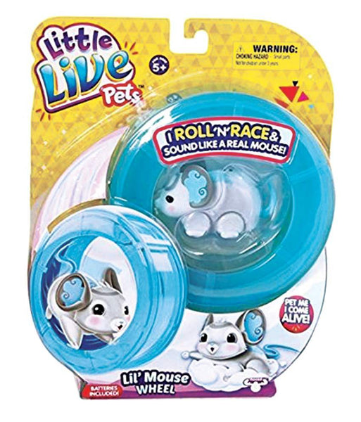 Girls Toys - ROSHA LITTLE LIVE PETS LLP S2 LIL'MOUSE WHEEL WONDER WINGS - 28193