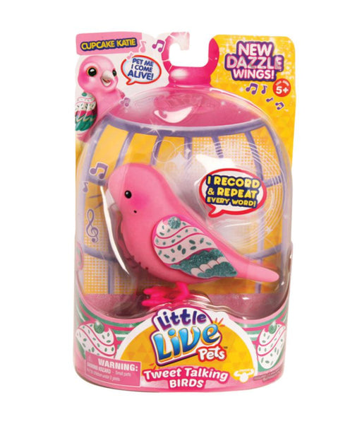 Girls Toys - ROSHA LITTLE LIVE PETS S4 BIRD SINGLE PACK CUPCAKE KATIE - 28227