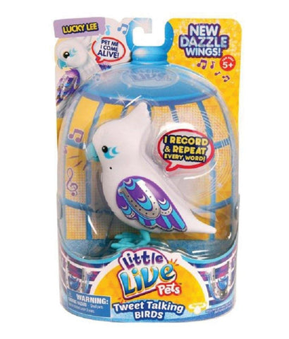 Girls Toys - ROSHA LITTLE LIVE PETS S4 BIRD SINGLE PACK LUCKY LEE - 28228