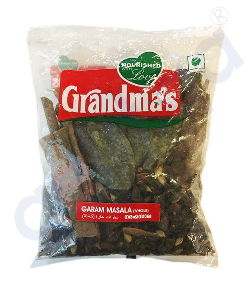 Buy Grandma's Garam Masala Whole Whole 350gm in Doha Qatar