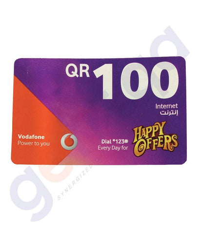 SHOP FOR VODAFONE INTERNET CARD 100 ONLINE IN QATAR