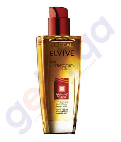HAIR OIL - L'oreal Elvive Extraordinary Oil Colored Hair 100ml