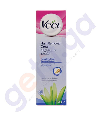 Hair Rremover - VEET HAIR REMOVAL CREAM SENSITIVE SKIN ALOE VERA AND VITAMIN E 100GM