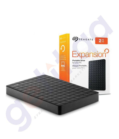 HARD DISKS - SEAGATE PORTABLE HDD EXPANSION 2TB - USB 3.0
