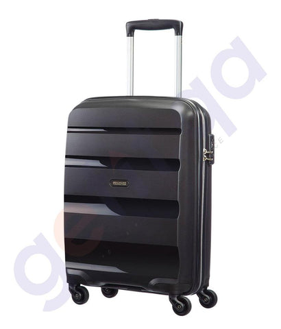 HARD TROLLEYS - AMERICAN TOURISTER BON AIR SPINNER HARD 75CM BLACK - 85A*09 007