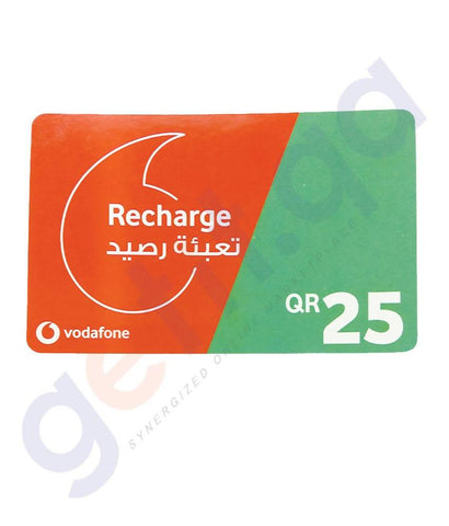 SHOP FOR VODAFONE RECHARGE VOUCHER 25 ONLINE IN QATAR