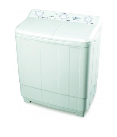 HOME APPLIANCES - DAEWOO 5 KG TWIN TUB WASHING MACHINE DW-800 KSDB