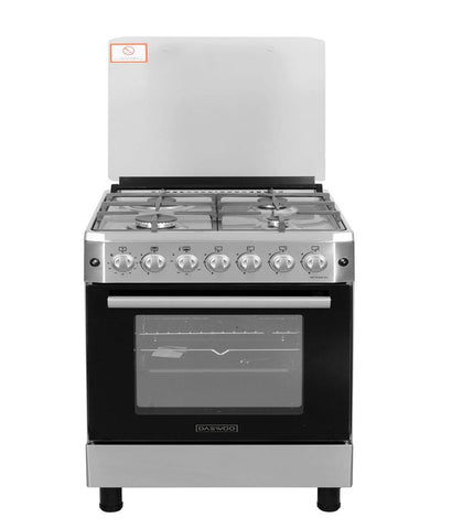 HOME APPLIANCES - DAEWOO GAS COOKER 60X60 BASIC RANGE DGC-666ESF