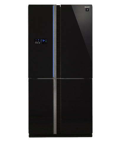 HOME APPLIANCES - SHARP LARGE FRENCH DOOR REFRIGERATOR (724LTR) SJFJ84VBK3