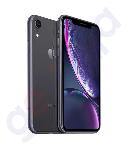 Buy Apple iPhone XR 3GB 128GB Black Price Online in Doha Qatar