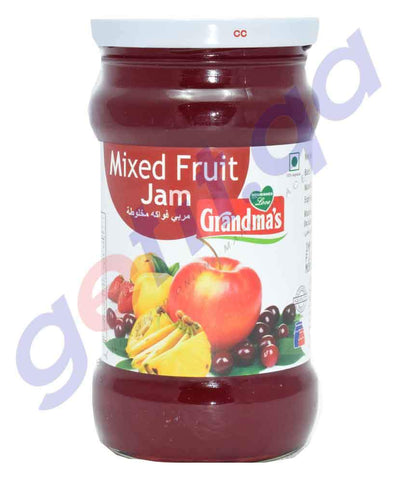 JAM - GRANDMAS MIXED FRUIT JAM - 350GM