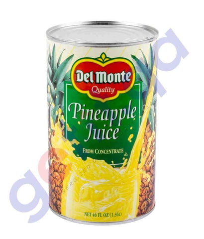 JUICE - DELMONTE PINEAPPLE JUICE - 46OZ