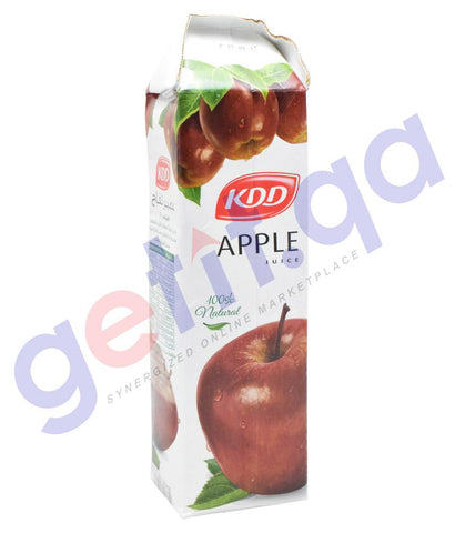 JUICE - KDD APPLE JUICE 1 LTR
