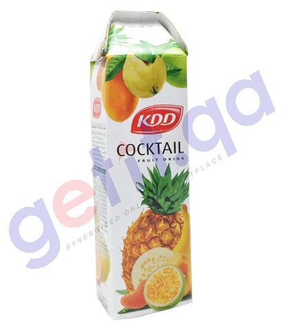 JUICE - KDD COCKTAIL JUICE 1 LTR