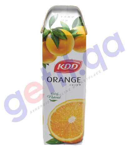 JUICE - KDD ORANGE JUICE 1 LTR