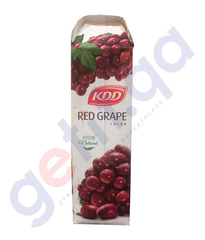 JUICE - KDD RED GRAPE JUICE 1LTR