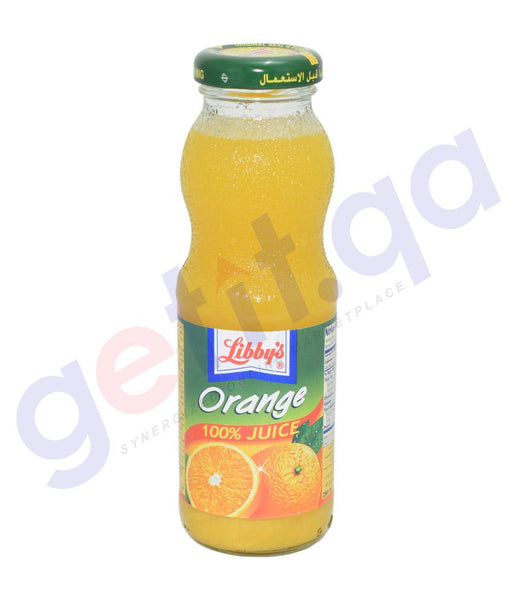 JUICE - LIBBY'S ORANGE JUICE - 250 ML