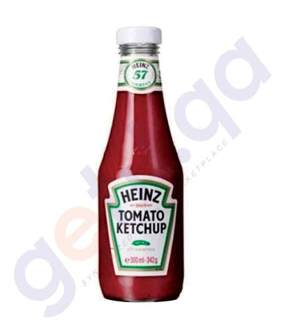 GETIT.QA | Buy Heinz Tomato Ketchup 342gm Price Online in Doha Qatar