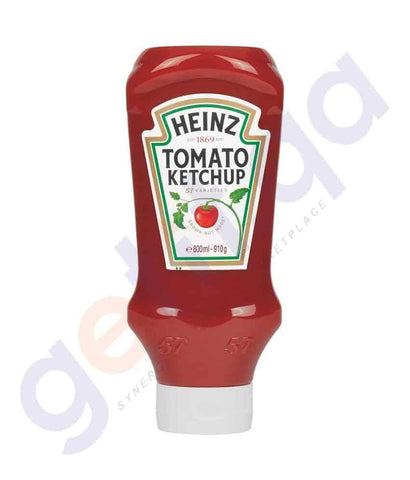 GETIT.QA | Buy Heinz Tomato Ketchup 910gm Price Online in Doha Qatar