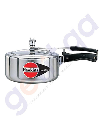 KITCHEN - HAWKINS 3.5 LITRES CLASSIC PRESSURE COOKER  . A35W