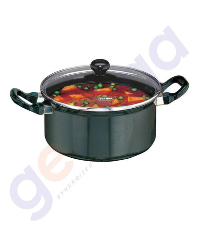 KITCHEN - HAWKINS COOK-N-SERVE STEWPOT - 20 CM WITH GLASS LID- Q34