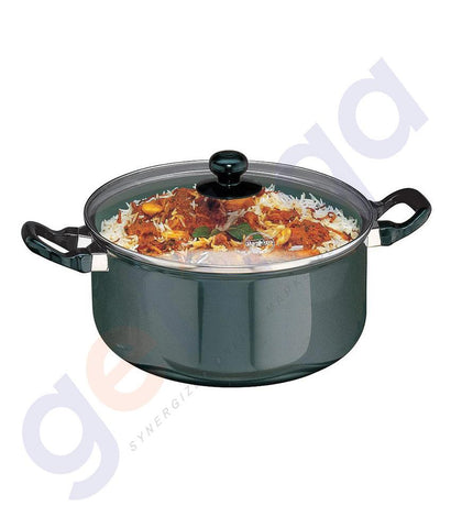 KITCHEN - HAWKINS COOK-N-SERVE STEWPOT - 24 CM WITH GLASS LID Q37