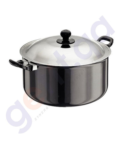 KITCHEN - HAWKINS COOK-N-SERVE STEWPOT  - 28 CM WITH LID -L39