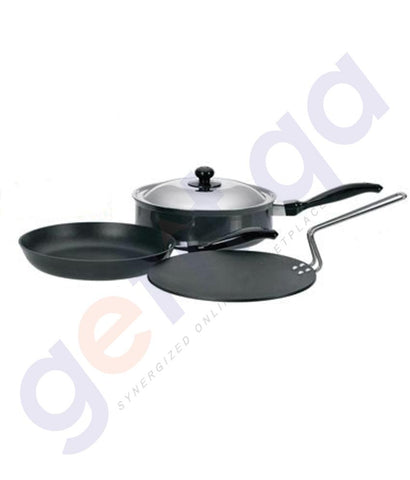 KITCHEN - HAWKINS COOKWARE 4 PIECE SET - QS3